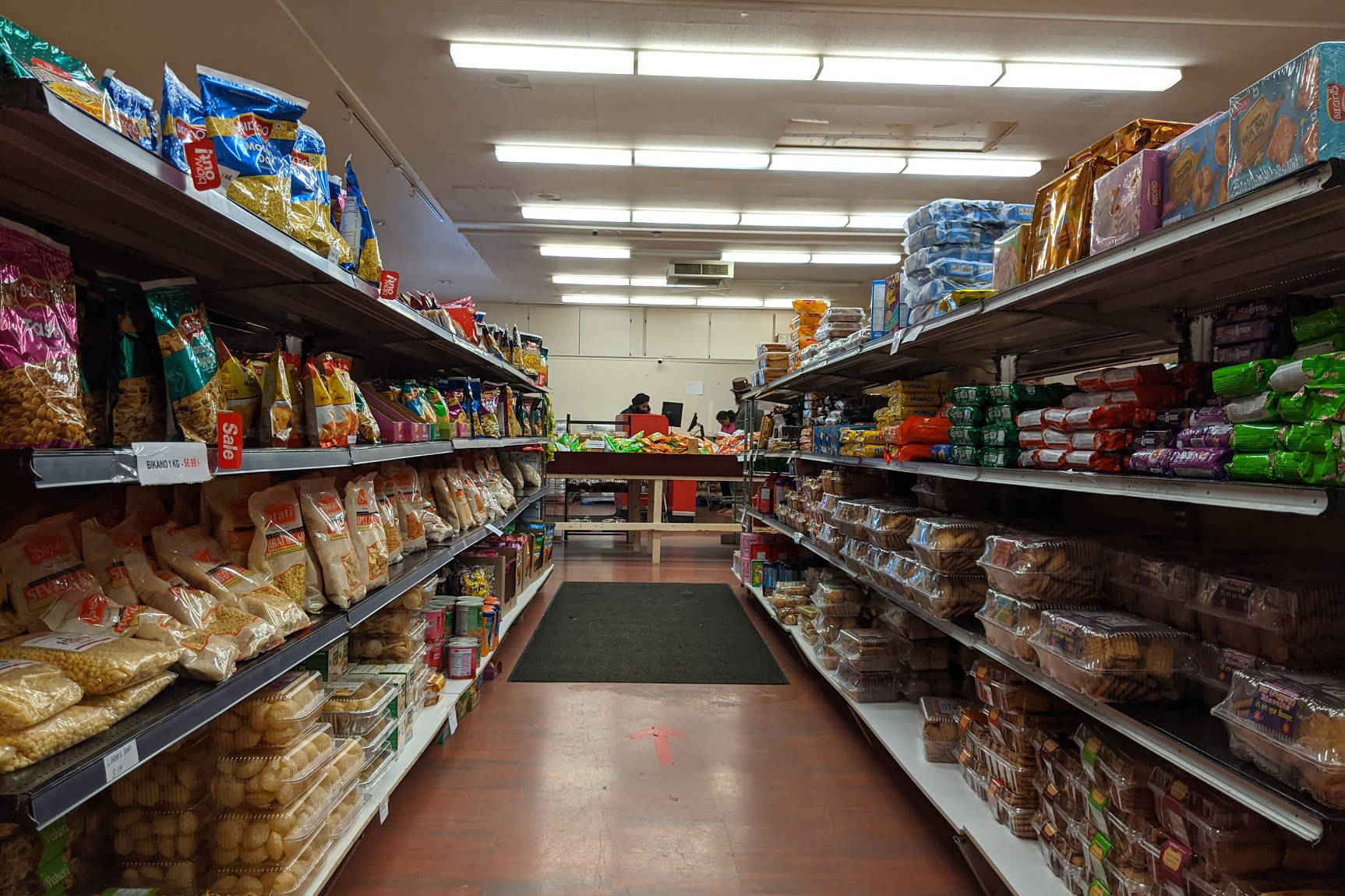 Maharajah Grocerz carries foods from many different South Asian countries, as well as North American staples. (Jesse Day - Western News)