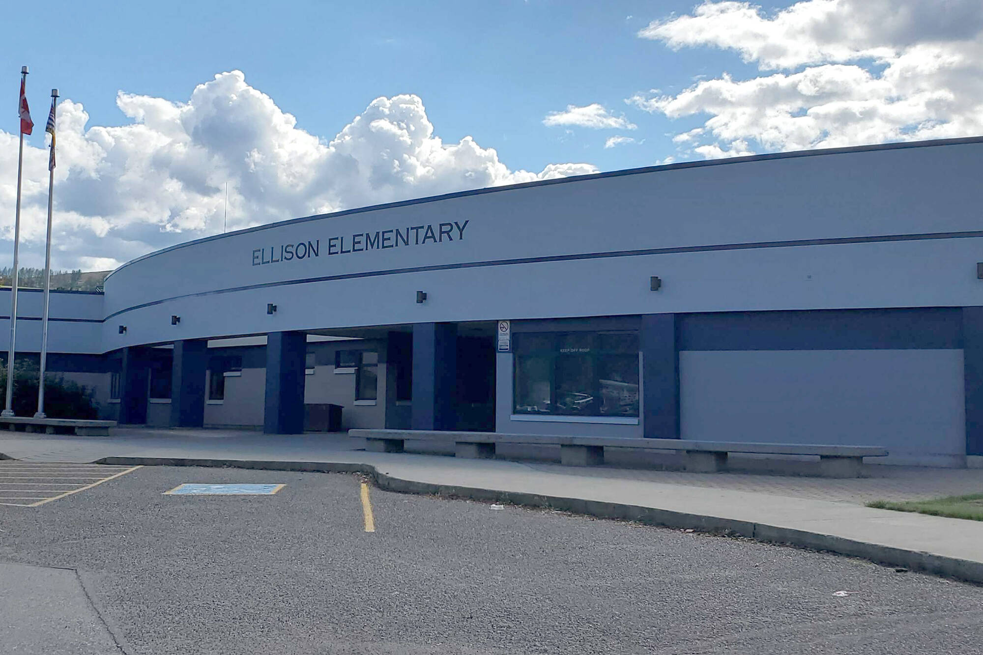 The province annouces $165,000 to build an accessible playground at Ellison Elementary in Vernon. (Roger Knox - Vernon Morning Star)